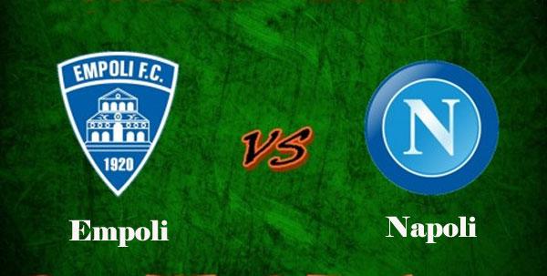 Empoli Vs Napoli live