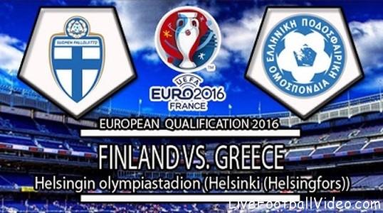 Greece Vs Finland Live stream Euro Qualifying free