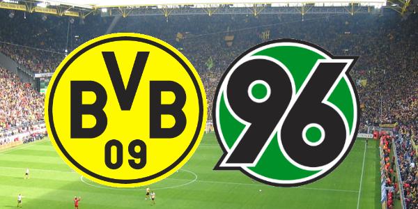 Borussia Dortmund TICKET 2015//16 Hannover 96