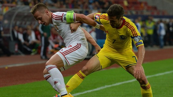 Hungary Vs Romania football