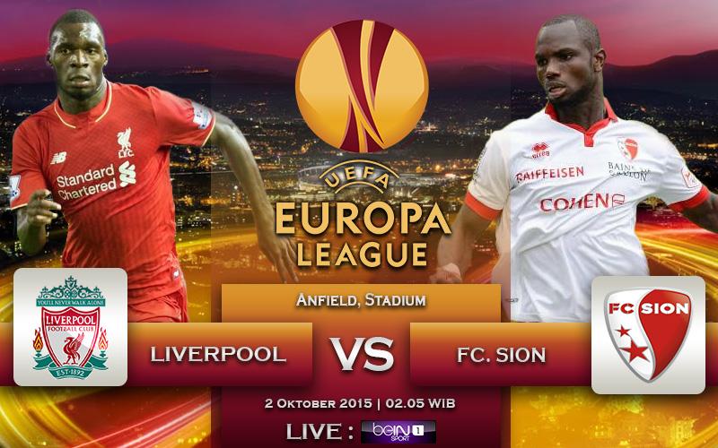 Liverpool vs Sion
