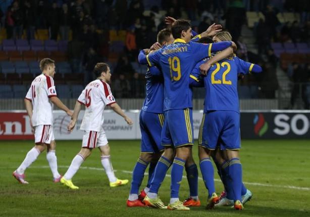 Ukraine Vs Belarus euro qualifying