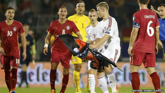 Albania Vs Serbia Euro Qualifying