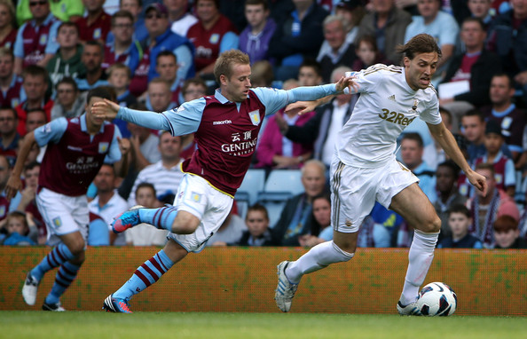 Aston Villa Vs Swansea city live