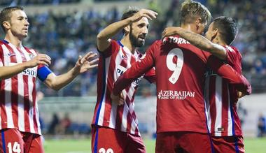 Atletico Madrid Vs Astana
