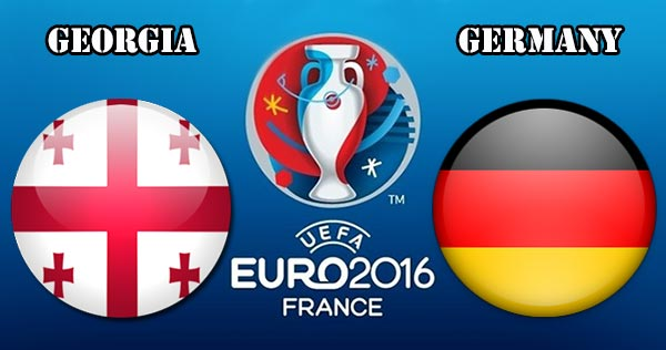 Germany Vs Georgia