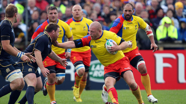 Ireland Vs Romania Rugby