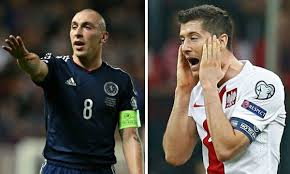 Scotland Vs Poland (Euro Qualifying)
