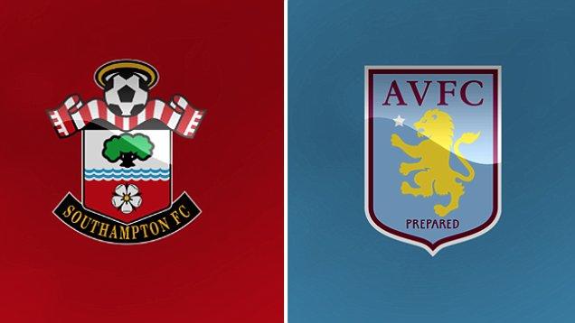 Southampton Vs Aston Villa live