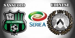Udinese Vs Sassuolo live