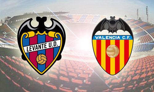 Valencia Vs Levante live