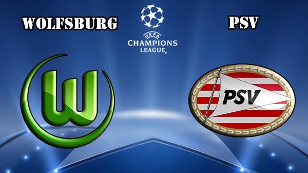Wolfsburg Vs PSV Eindhoven
