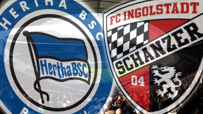 Ingolstadt VS Hertha BSC