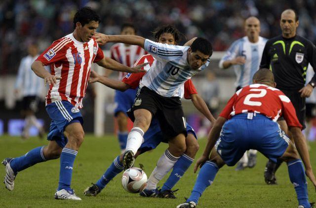 Paraguay Vs Argentina live