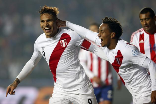 Peru Vs Paraguay live