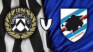 Udinese Vs Sampdoria live