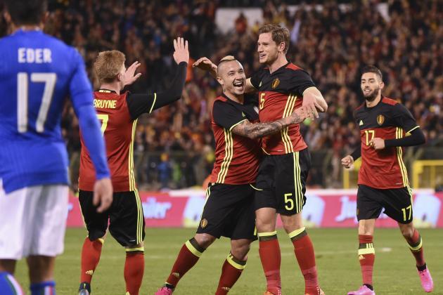 belgium Vs Italy live