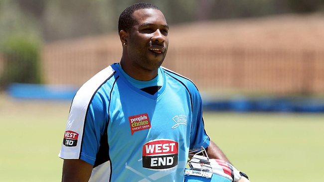 Kieron Pollard on big bash