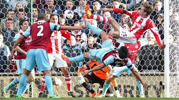 West Ham United Vs Stoke City