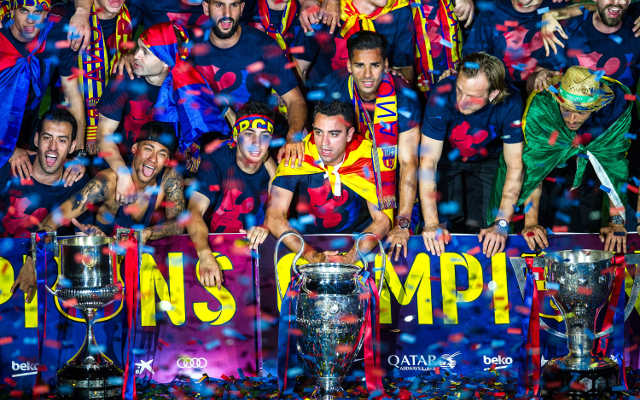 Barcelona Become the Team of the Year of 2015