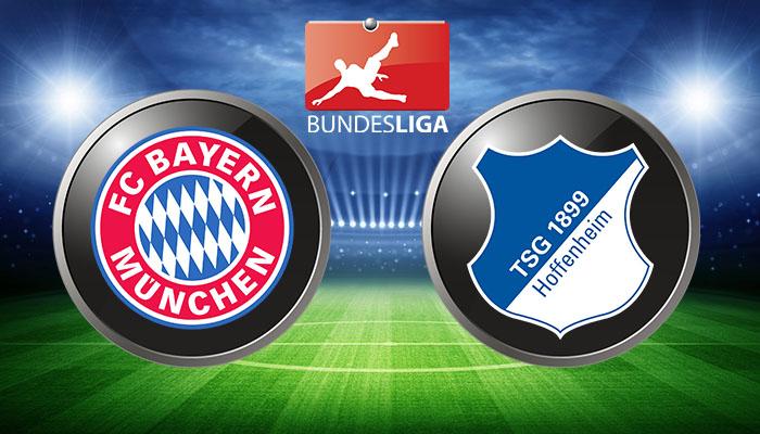 bayern vs hoffenheim 2017
