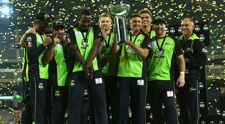 Big Bash's New Champions Sydney Thunder