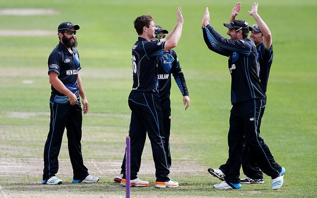 Black Caps won over the Aussie in inaugural ODI at Eden Park, Auckland