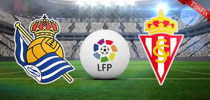 Real-Sociedad vs Sporting Gijon