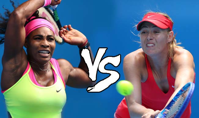 Serena + Sharapova = Quarter Final