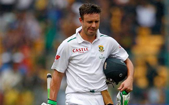 Unwanted Record for de Villiers
