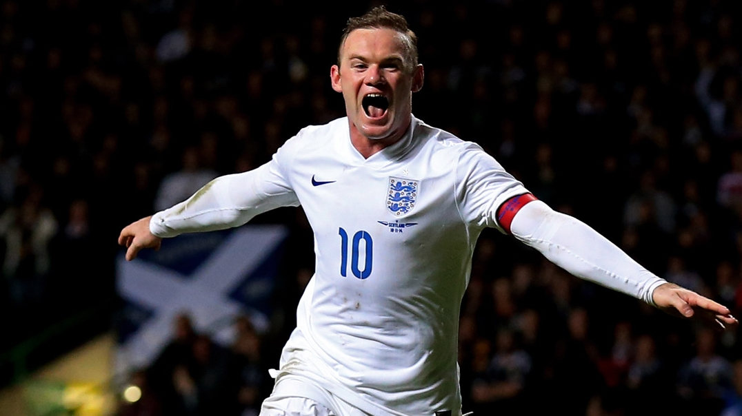 Rooney Become the Footballer of the Year of England