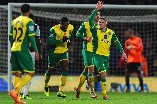 Norwich City Vs West Ham United