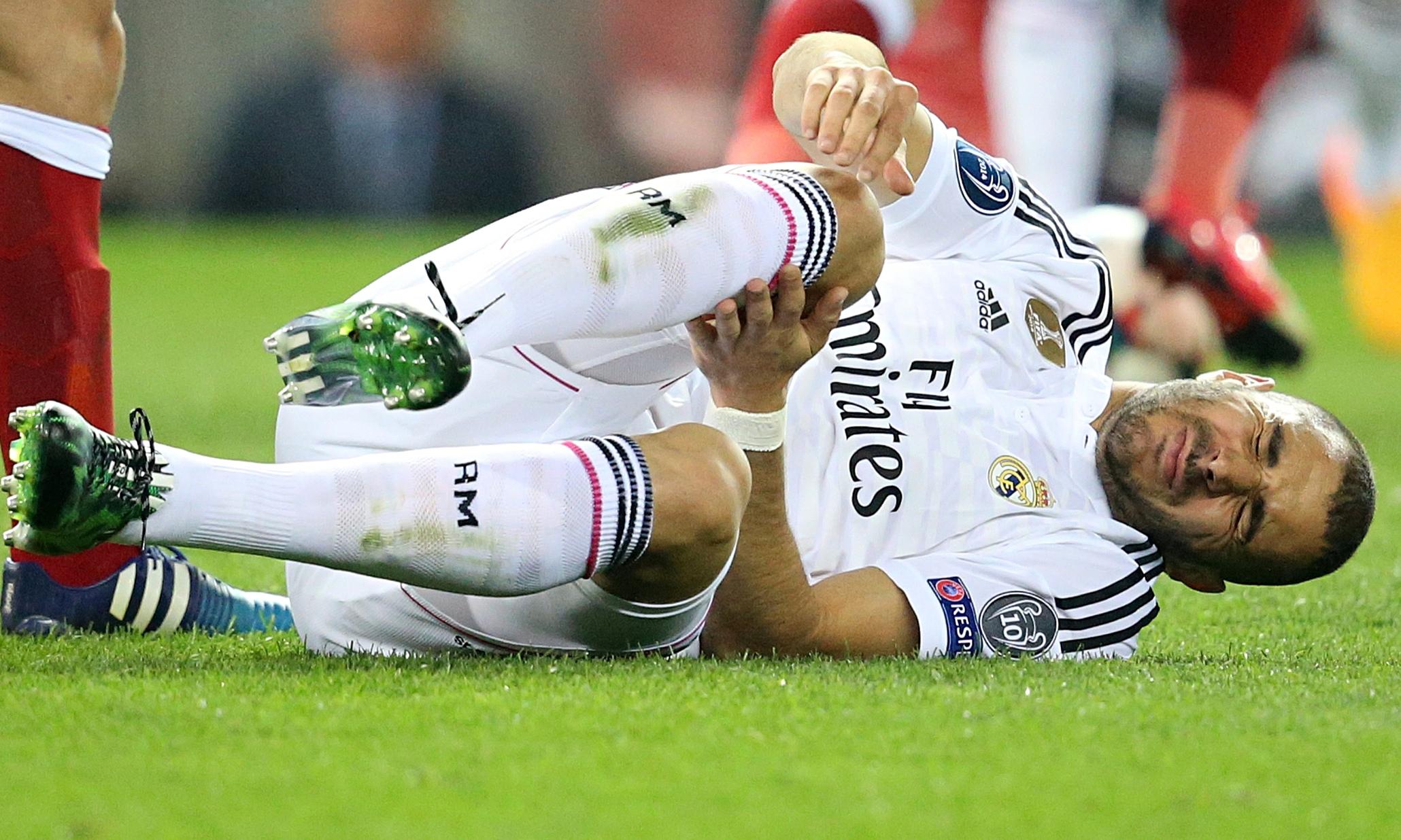 Hamstring Injury ruled out Benzema - TSM PLUG