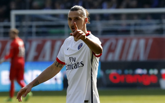 Ibrahimovic's announcement of Left PSG