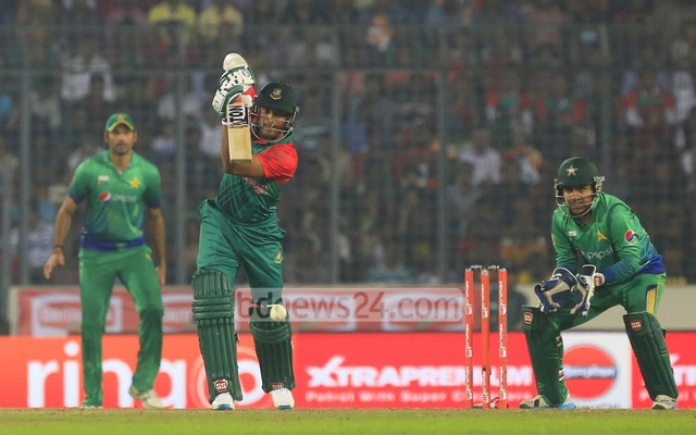 Shakib beyond Afridi in Double
