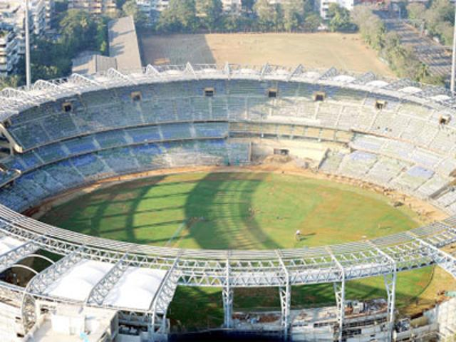 Wankhede Stadium in Mumbai