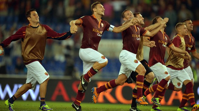 AS Roma Vs Bologna