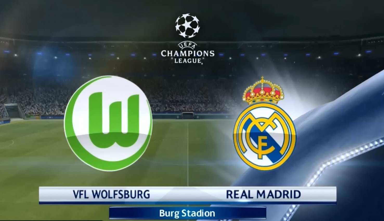 Wolfsburg Vs Real Madrid