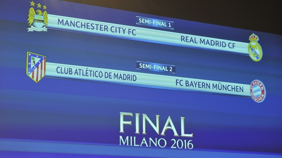 draw semi final champions league