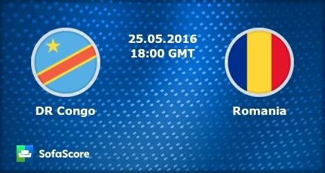 RD Congo Vs Roumanie Monde Amicaux