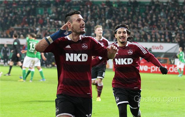 Eintracht Frankfurt Vs Nurnberg Bundesliga