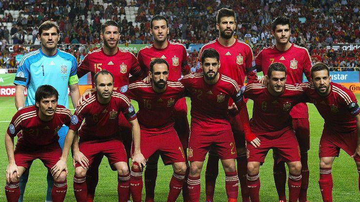 Spain Euro 2016 Team