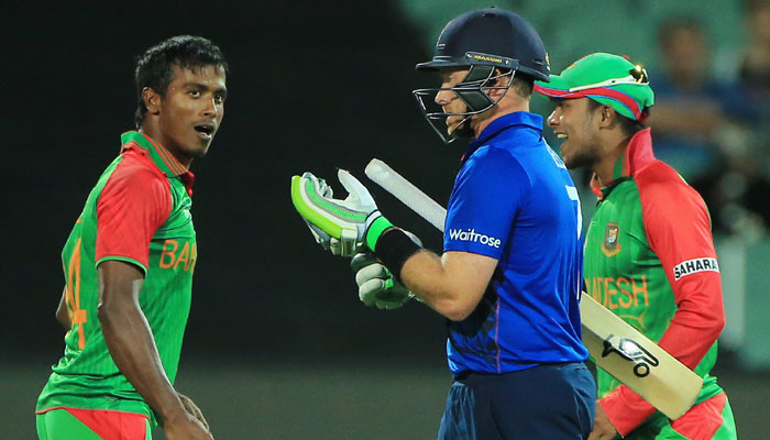 Bangladesh-England series schedule