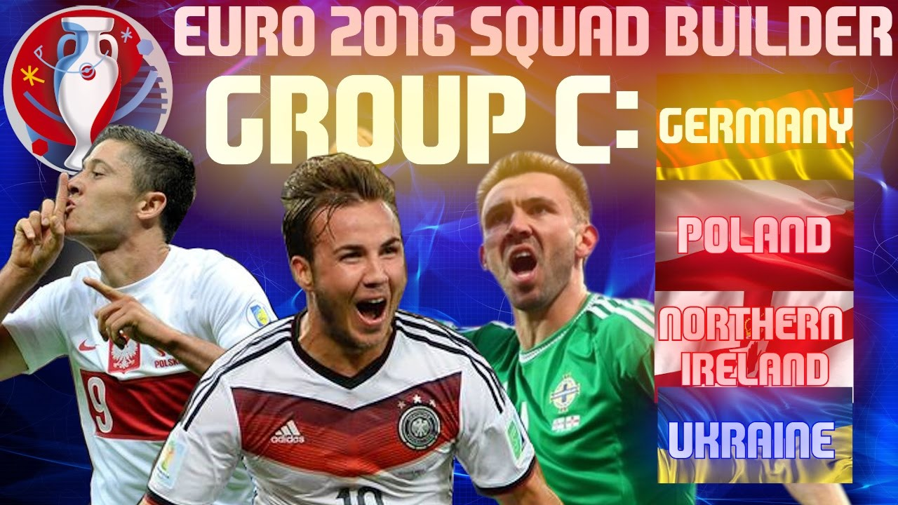 EURO 2016 Group C Team, Fixture and Squad