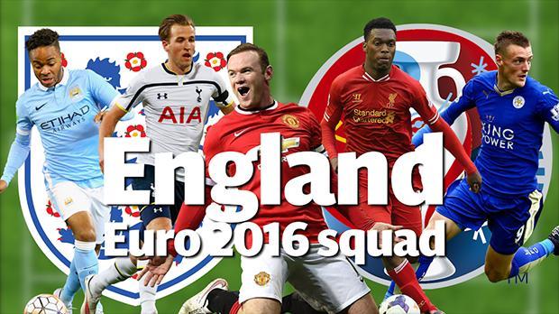 England Euro Team