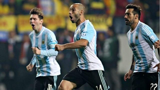 Mascherano's Argentine Record at Copa