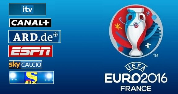 UEFA EURO 2016's Full TV Schedules, Broadcasters, Online Streaming