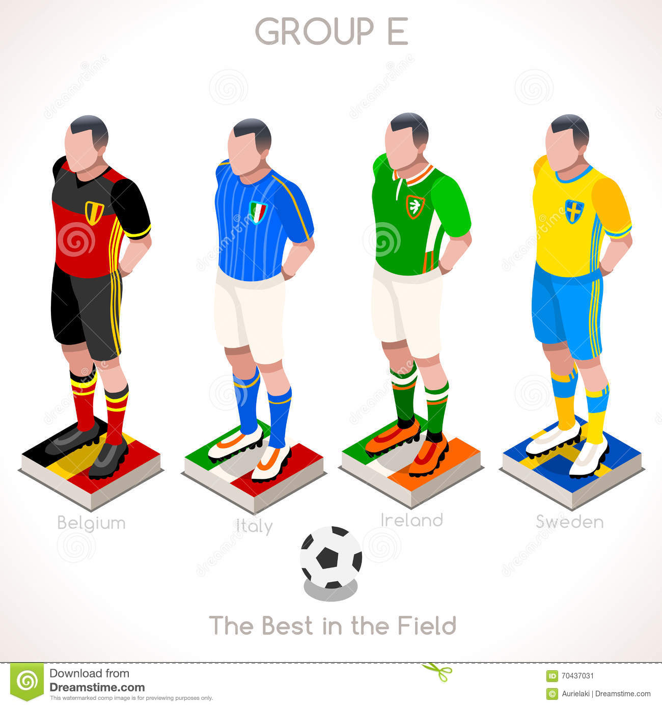 UEFA EURO 2016 Group E Teams,