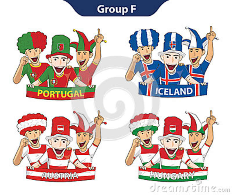 UEFA EURO 2016 Group F Teams,