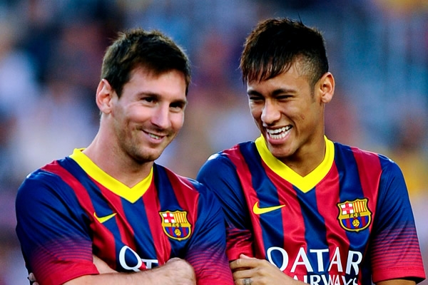 Neymar is Very Gladsome Man - Messi - TSM PLUG